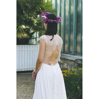 Couronnes Des Fleurs Mariage Romantique