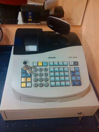 Caja registrodora Olivetti profesional