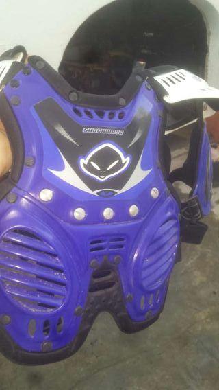 Peto motocross adaptable