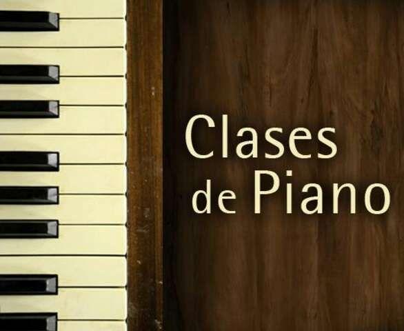 Clases de piano y música en general