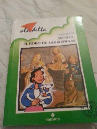 Libro: El robo de las meninas-Luisa Villar