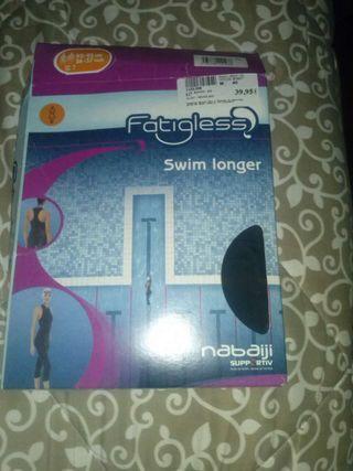 Bañador natacion mujer largo 2x1