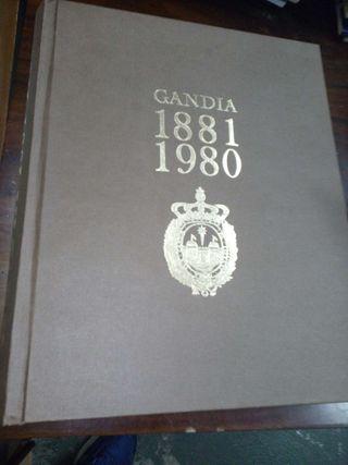 Libro gandia 1881 1981
