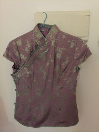 Camisa Japonesa Seda Autentica ( A Estrenar)