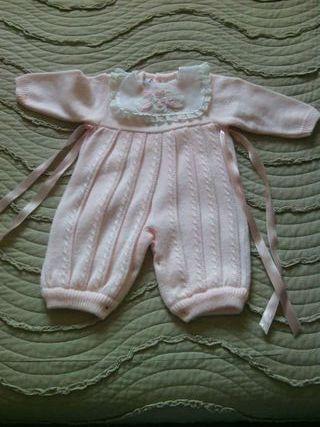 Vestido buzo bebe