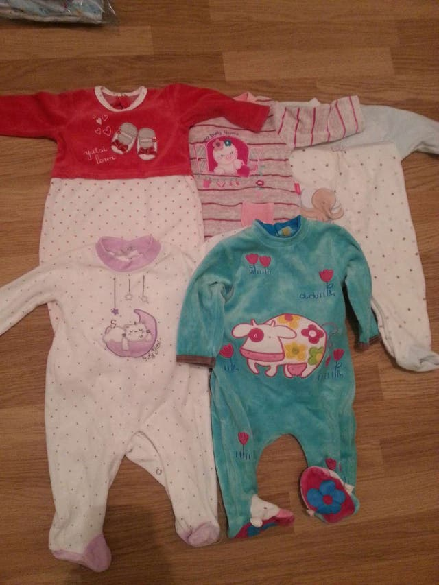 Lote pijamas niña 3-6