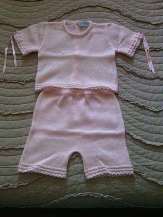 Traje corto bebe