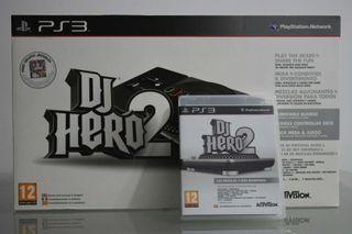 DJ Hero 2 para PS3 + Mesa de mezclas
