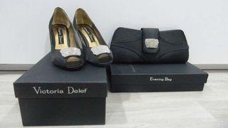 Conjunto Zapatos y Cartera VICTORIA DELEF
