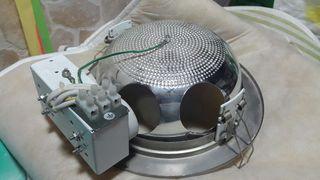 4 Plafones con transformador 2 luces