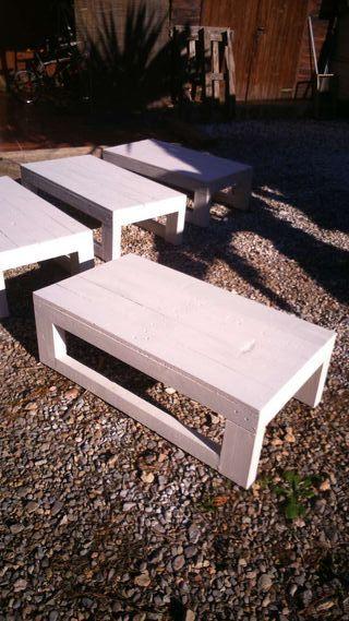 Mesas con palets de segunda mano por 45 en san antonio for Wallapop mesas