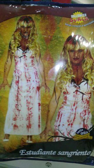 Disfraz estudiante sangriento