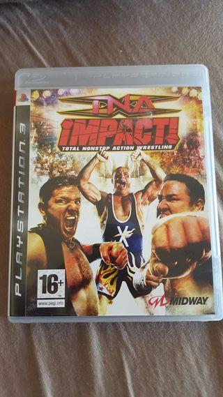 Juego TNA impact! Para PS3