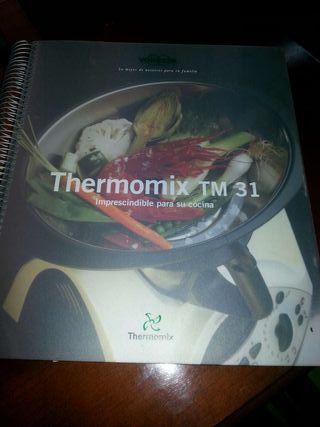 Libro recetario Thermomix Tm31 *thermomix 31