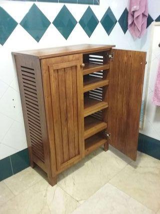 Muebles rústicos en madera