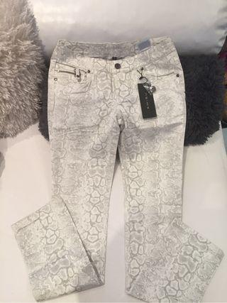 Pantalon Elastico Y Nuevo Talla 38