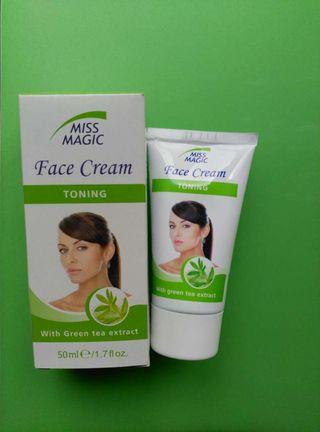 Crema facial té verde