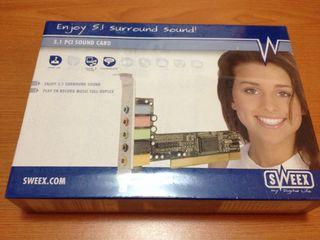 Tarjeta Sonido 5.1 PCI
