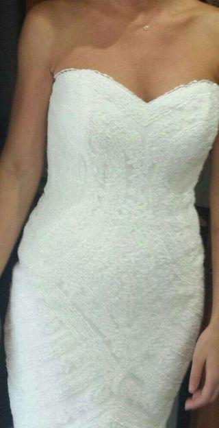 vestido de novia talla 38 de segunda mano en valencia en wallapop