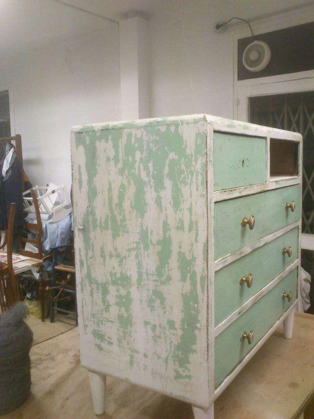 Mueble vintage restaurado de segunda mano en barcelona en wallapop - Muebles vintage barcelona segunda mano ...