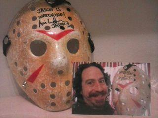 Mascara Viernes 13 Firmada por Jason