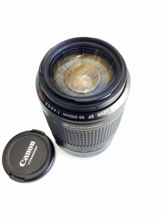 EF 55-200mm f/4.5-5.6 USM, Objetivo Canon Para Camara Reflex