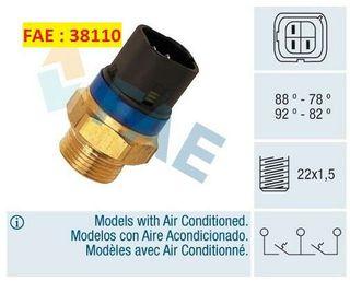 Interruptor Temperatura Ventilador. FAE 38110