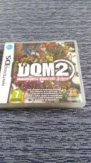 Juego de Nintendo DS/3DS (Dragon Guest Monsters-Joker 2)