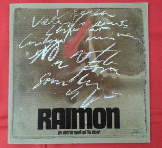 Vinilo Raimon -Per destruir aquell qui l'ha desert