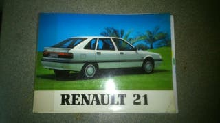 Manual de usuario renault 21