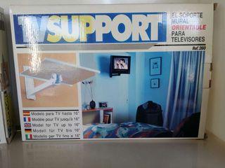 Soporte tv blanco o negro