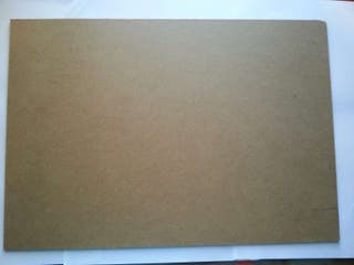 Tablilla de cartón prensado