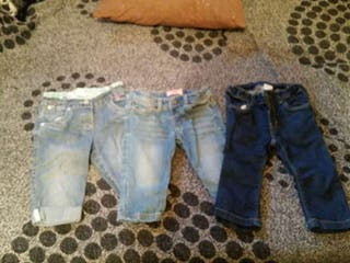 Pack 3 pantalones niña