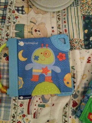 Pack 2 Libros de tela Imaginarium