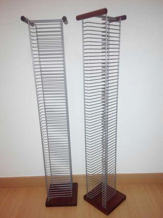 Muebles torres porta CD