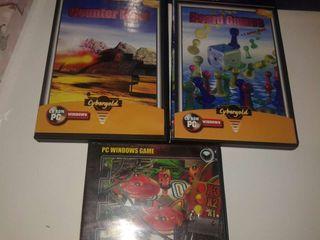 3 juegos de pc