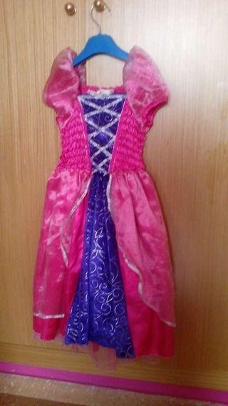 Disfraz de princesa. De 2-4 años.
