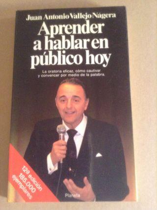 Libro Aprender Hablar En Publico