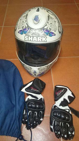 Casco Shark S800 Butterfly
