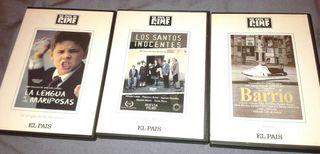 Dvd pack x 3 cine español