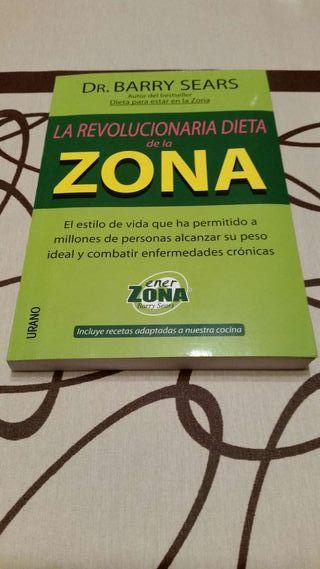 """Libro """"La revolucionaria dieta de la zona """"."""