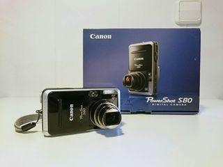 Cámara fotos CANON Powershot S80