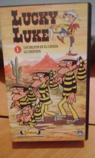 VHS VIDEO LUCKY LUKE