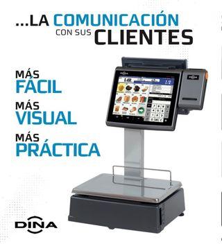 Balanza Dina DQ-9 con pantalla tactil