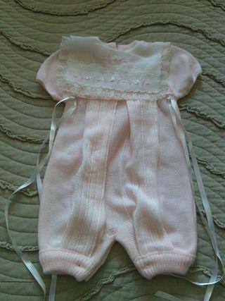 Vestido buzo para bebe