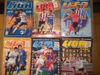 Albumes de cromos de futbol liga este