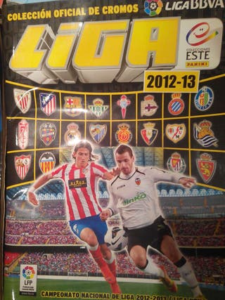 Album de cromos de futbol liga 12-13