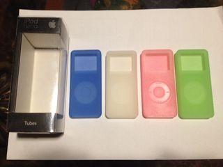 4 Fundas Ipod Nano Apple