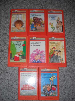 """Lote libros """"El Barco de Vapor"""""""
