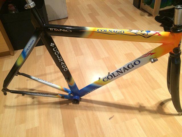 Cuadro Bici COLNAGO Titanium